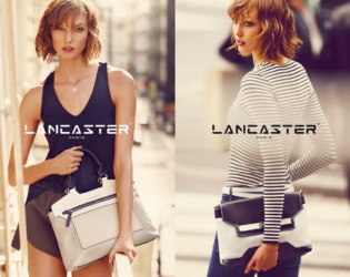 Karlie Kloss For Lancaster Spring 2014