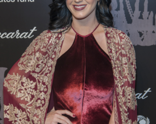 Katy Perry At The Ninth Annual Unicef Snowflake Ball