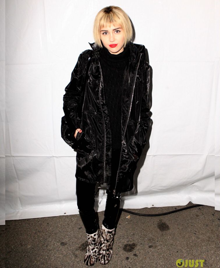 Miley Cyrus New Hairstyle 2013