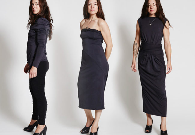 The METAmorph Dress – A Dress That Can Be Worn in 24 Ways