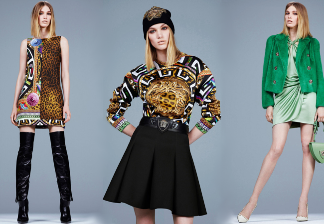 Versace Pre-Fall 2014 Collection