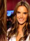 Alessandra Ambrosio Surfer Blonde Highlights