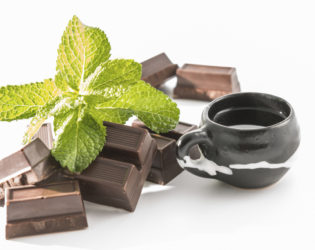Chocolate And Pepermint Drink