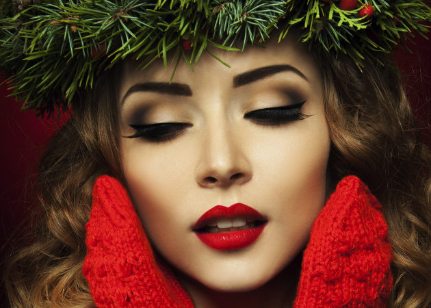 Christmas Makeup Looks and Ideas