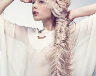 Frizzy Fishtail Braid