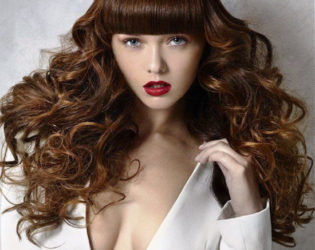 Frizzy Glamor Hairstyle