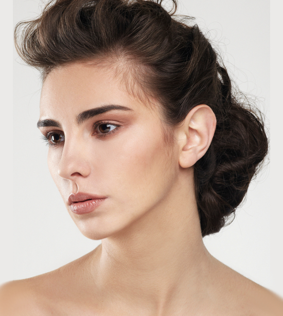 Frizzy Updo Hairstyle