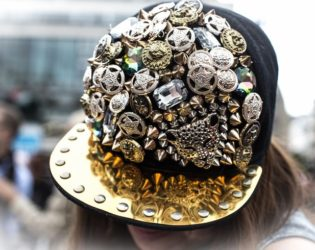 Jewelled Baseball Cap