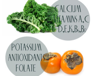 Kale and Persimmon Nutrition