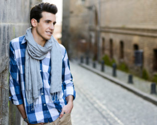Once Around Scarf