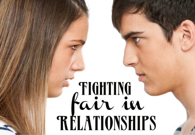 Important Rules of Fighting Fair in Relationships