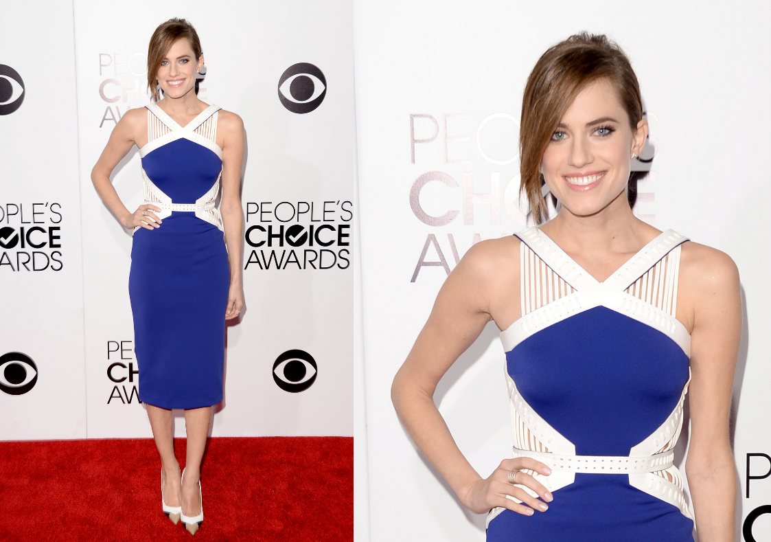 Allison Williams People's Choice Awards 2014