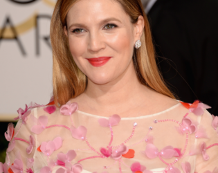 Brew Barrymore 2014 Golden Globes Hair And Makeup