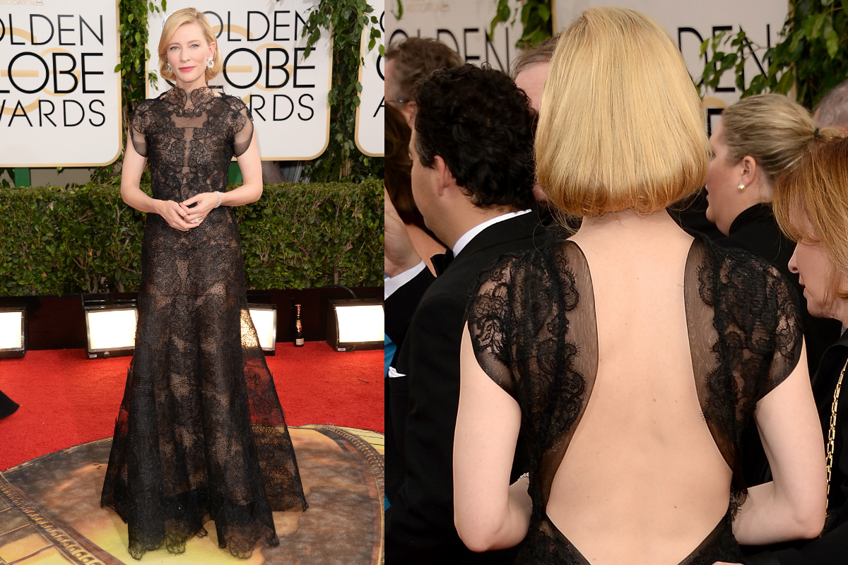 Cate Blanchett 2014 Golden Globe Awards
