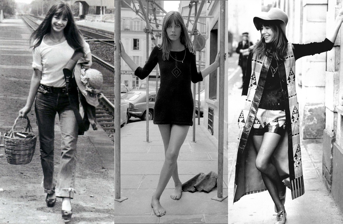 Jane Birkin Fashion Style