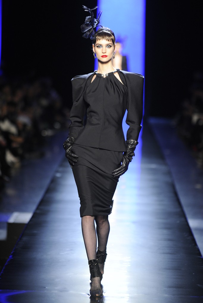 Jean Paul Gaultier Couture Spring 2014 Look  (1)
