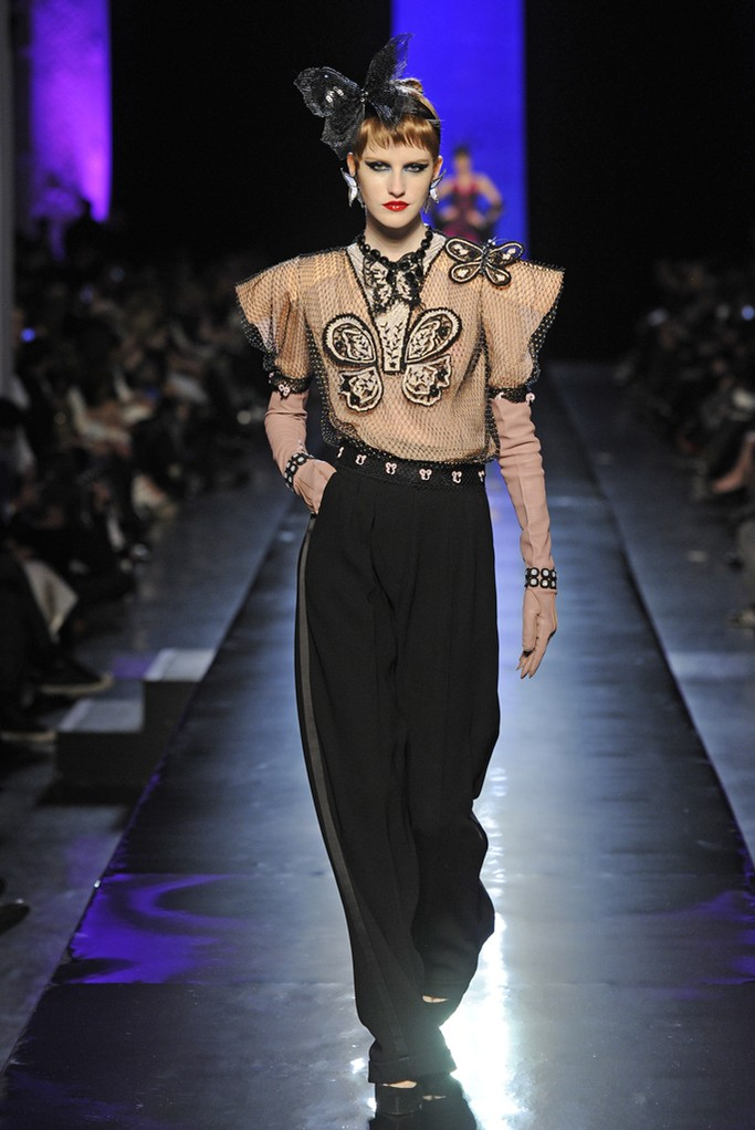 Jean Paul Gaultier Couture Spring 2014 Look  (12)