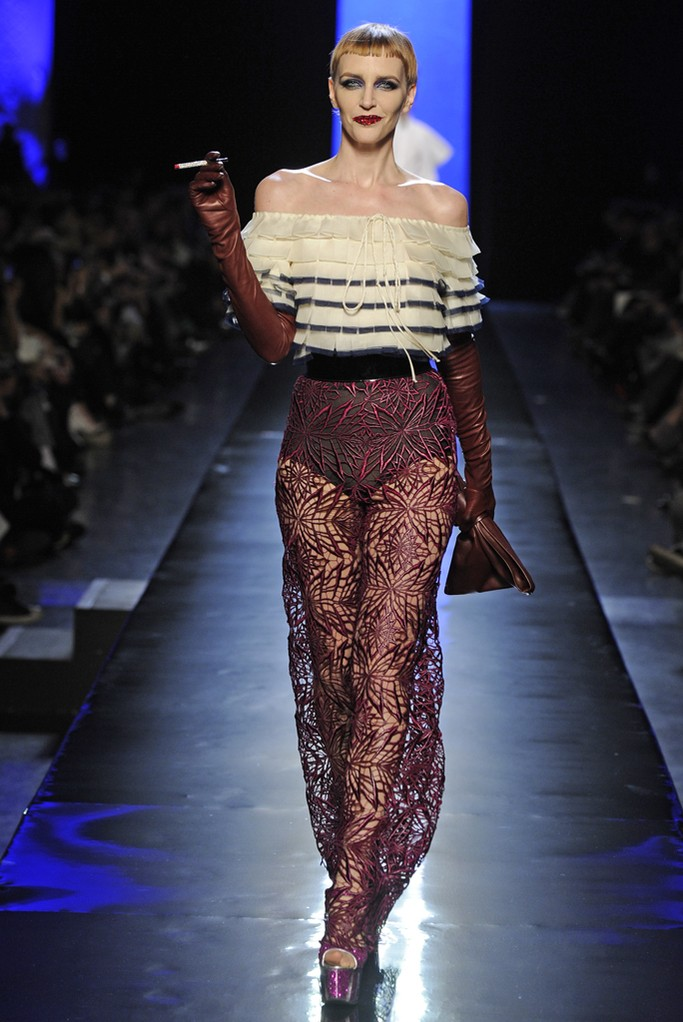 Jean Paul Gaultier Couture Spring 2014 Look  (3)