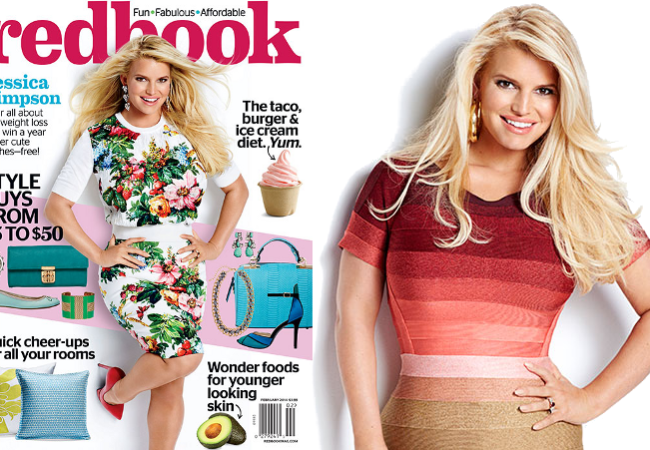 Jessica Simpson Flaunts Post Baby Body