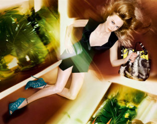 Jimmy Choo Spring 2014 Campaign