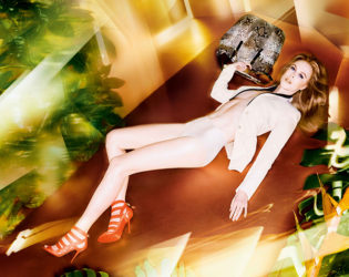 Jimmy Choo Spring Summer 2014 Campaign