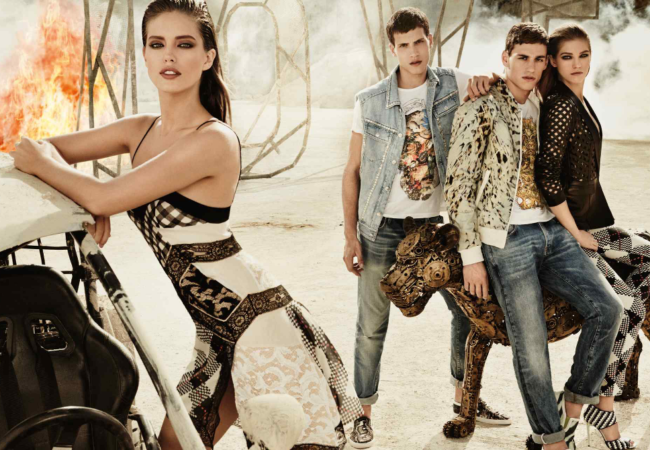 Just Cavalli Spring/Summer 2014 Campaign