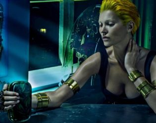 Kate Moss For Alexander Mc Queen 2014 Ad Campaign