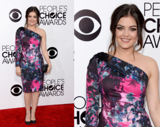Lucy Hale People's Choice Awards 2014