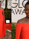 Lupita Nyong'o 2014 Golden Globe Awards