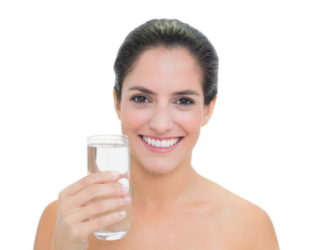 More Water Intake For Healthy Skin