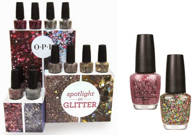 OPI Spotlight On Glitter Spring 2014 Nail Polish Collection