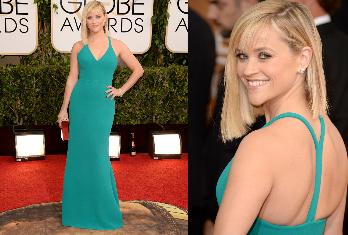 Reese Witherspoon 2014 Golden Globe Awards