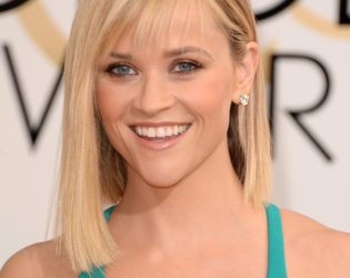Reese Witherspoon 2014 Golden Globes Hair And Makeup