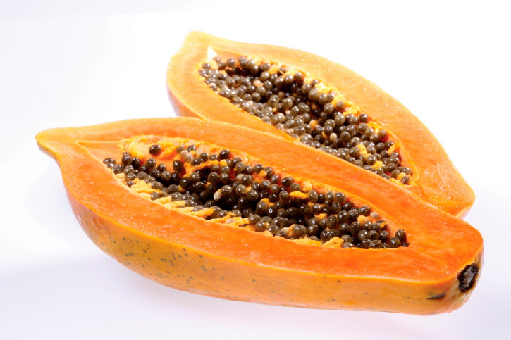 Ripe Papaya For Hair Mask
