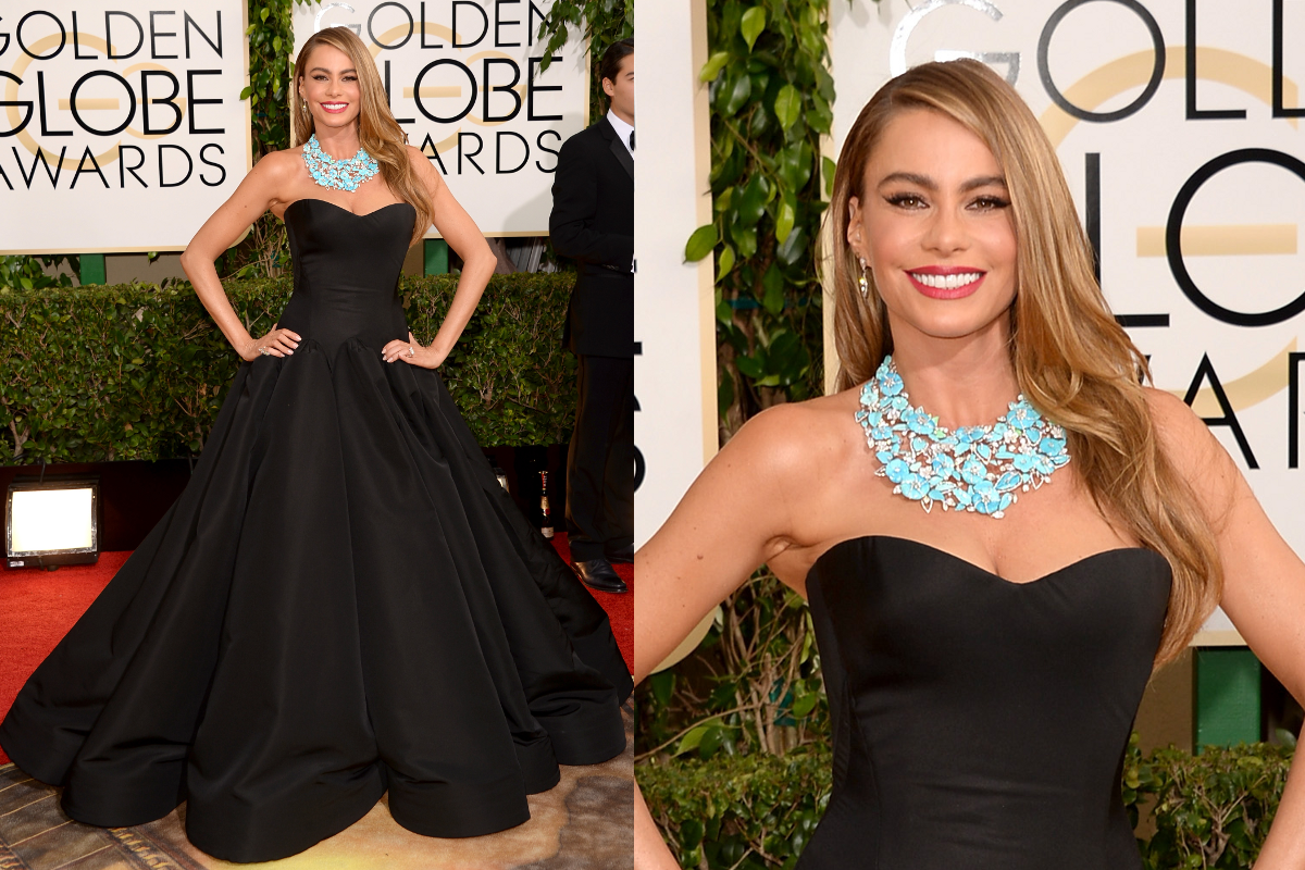 Sofia Vergara 2014 Golden Globe Awards
