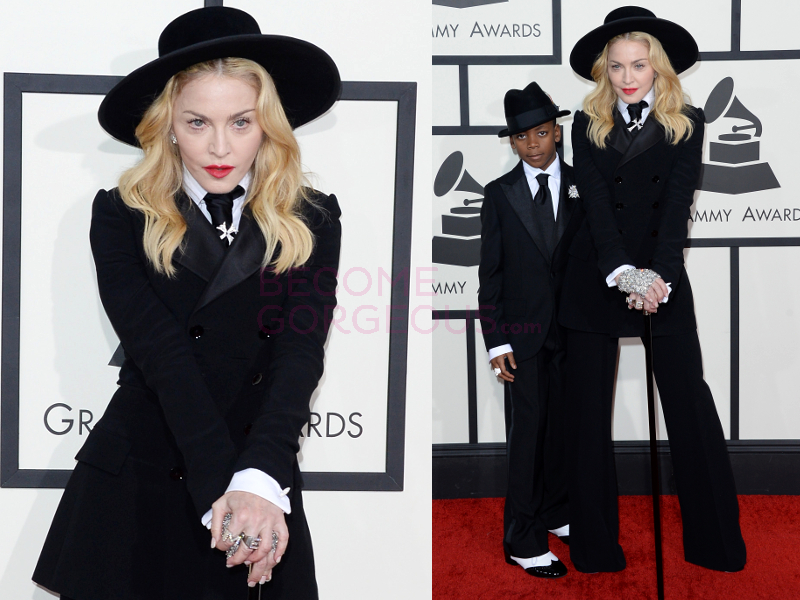 Madonna Grammys 2014 Outfit