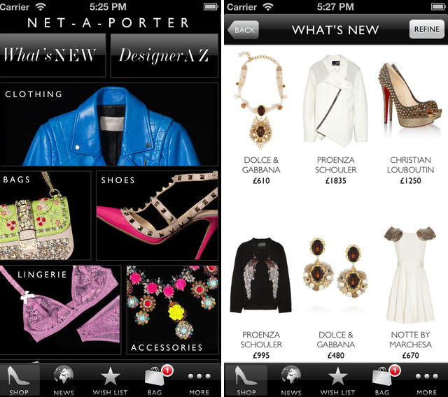 Pictures Best 2014 Fashion And Style Apps For Android And Iphone Ipad Net A Porter Fashion App