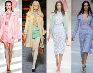 Pastel Colors Spring 2014 Trends