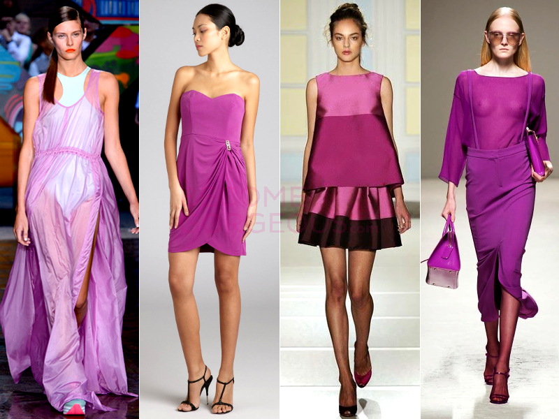 Radiant Orchid Color Spring 2014 Trend