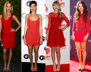 Red Lipstick With Red Dress