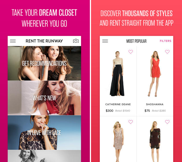 Pictures Best 2014 Fashion And Style Apps For Android And Iphone Ipad Rent The Runway App