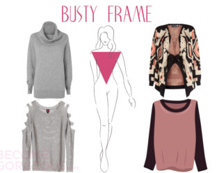 Sweaters For Busty Frame