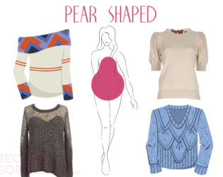 Sweaters For Pear Shaped Body