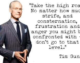 Tim Gunn Quote On Manners