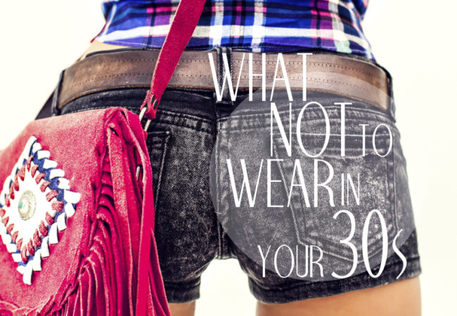 10 Things to Stop Wearing in Your 30s
