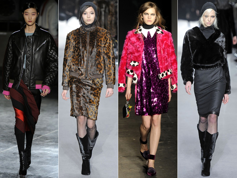 Bomber Jackets Fall 2014 Trends