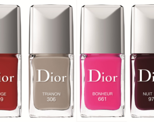 Dior Vernis Couture Effet Gel Nail Polishes