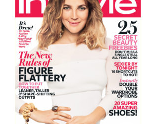 Drew Barrymore In Style Cover