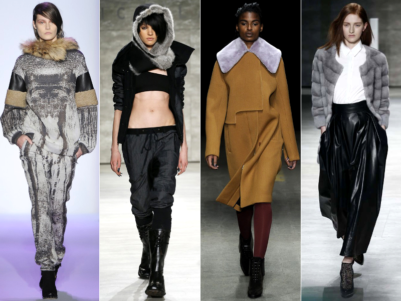 Furry Accents Fall 2014 Trends