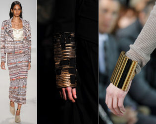 Gold Detailing Fall 2014 Trends
